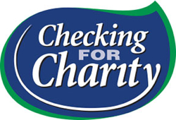 Checking for Charity graphic