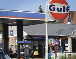 Mabardy Gulf Gas Station
