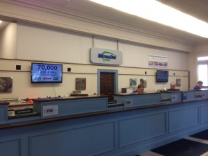 MutualOne Bank Natick office interior under construction