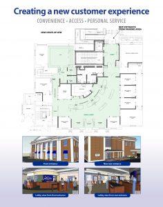 Natick office renovation floor plan