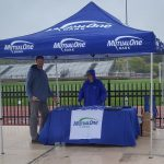 MutualOne Bank booth at George Wheeler Memorial Cup