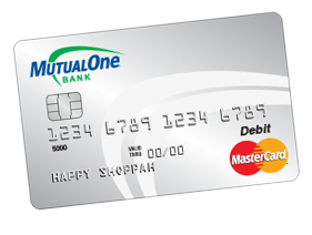MutualOne Debit Card Artwork