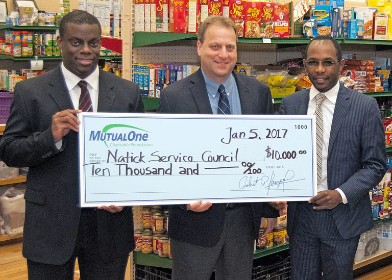 Natick Service Council Donation