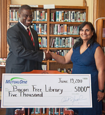 Bacon Free Library Donation