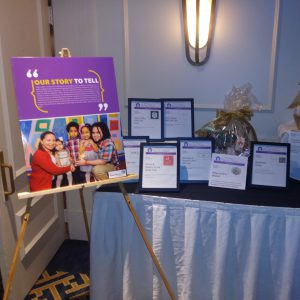 Table display at Keep the Promise event