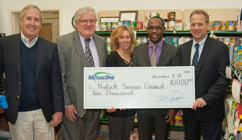 Natick Service Council Foundation grant