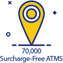 Click here to go to our Surcharge-Free ATMs page.