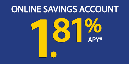 Click here to see our Online Savings Account rate.